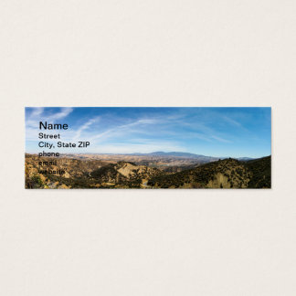 Los Padres National Forest Mini Business Card