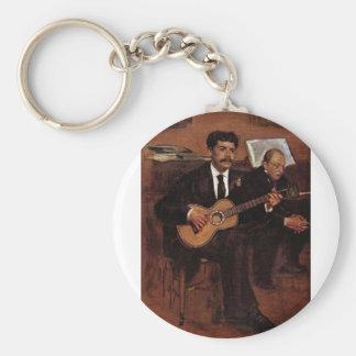 Los Pagans y el Monsieur Degas del guitarrista por Llavero Personalizado