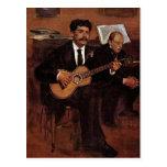 Los Pagans y el Monsieur Degas del guitarrista por Postal