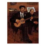 Los Pagans y el Monsieur Degas del guitarrista por Postales