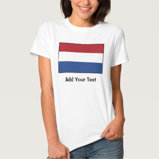 Los Países Bajos - bandera holandesa Poleras
