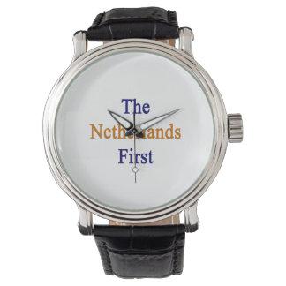 Los Países Bajos primero Relojes De Mano