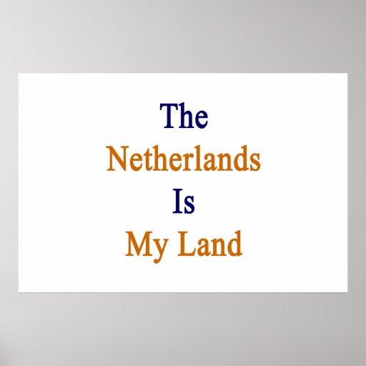 Los Países Bajos son mi tierra Impresiones