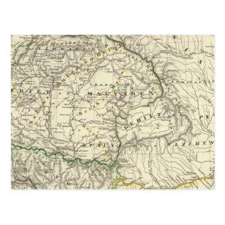 Los países en el Danubio más bajo VtenXte Postal