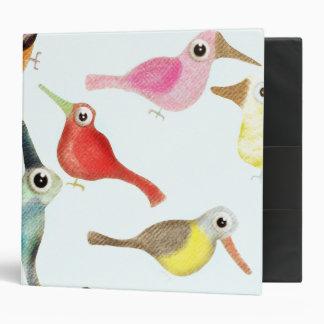 Los pájaros carpeta 5 cm