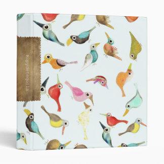 Los pájaros carpeta 2,5 cm