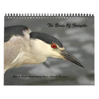 Los pájaros de Forsythe - calendario oficial del