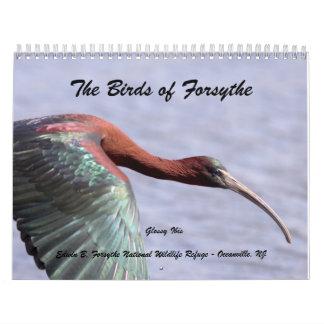 Los pájaros de Forsythe II Calendarios De Pared