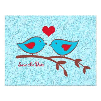 Los pájaros del amor ahorran la invitación de la