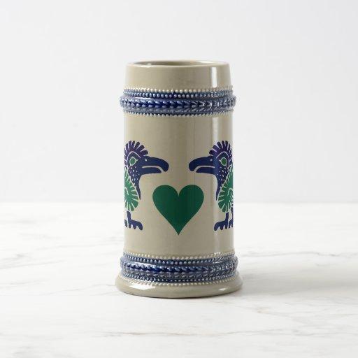 Los pájaros del amor asaltan - elija el estilo y jarra de cerveza