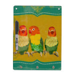 Los pájaros del amor del oro secan al tablero del  pizarras blancas de calidad
