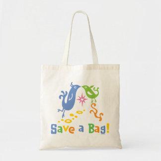Los pájaros del amor - recicle el bolso bolsa
