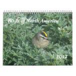 Los pájaros hacen calendarios 2012
