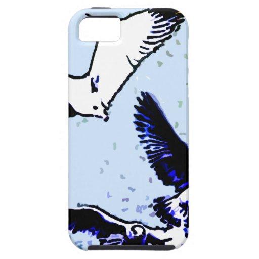 Los pájaros iPhone 5 Case-Mate cobertura