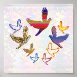 Los pájaros vuelan:  El alto altísimo es mi natura Impresiones