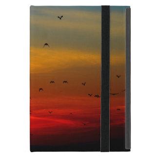 Los pájaros vuelan en el mini caso del iPad iPad Mini Protector