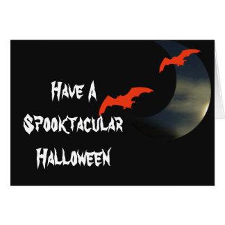 Los palos - tenga un Spooktacular Halloween Tarjeta De Felicitación