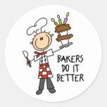 Los panaderos mejora, pegar la figura pegatinas