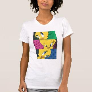 Los paneles cómicos de Tweety Camisetas