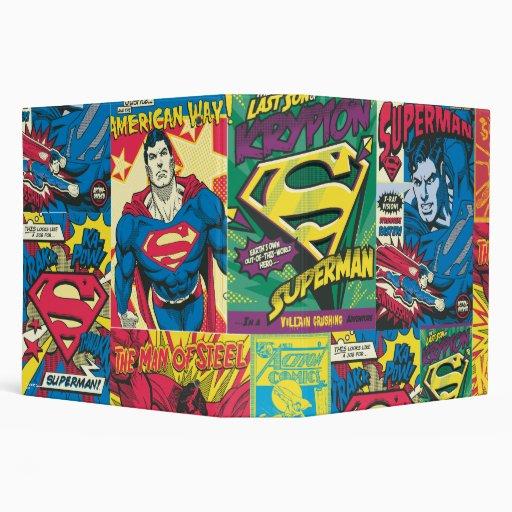 Los paneles cómicos del superhombre