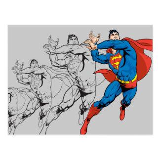 Los paneles cómicos del superhombre postal