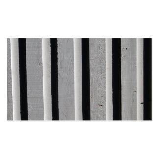 Los paneles de madera 2 tarjetas de visita