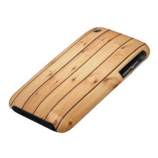 Los paneles de madera de la sauna Case-Mate iPhone 3 funda