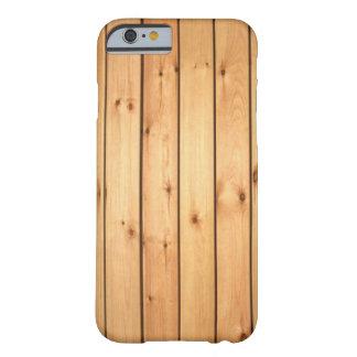 Los paneles de madera de la sauna funda de iPhone 6 barely there