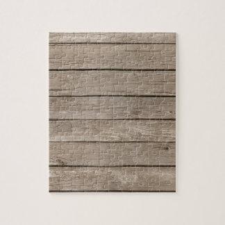 Los paneles de madera del granero rompecabezas