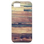 Los paneles de madera iPhone 5 cobertura