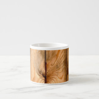 Los paneles de madera rústicos de PixDezines Taza Espresso