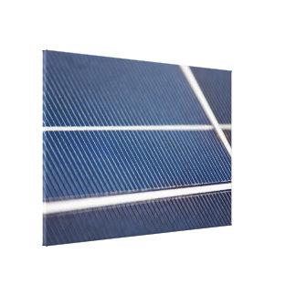 Los paneles solares abstractos lona envuelta para galerias