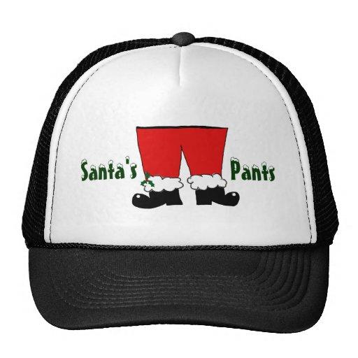 Los pantalones de Santa Gorros Bordados