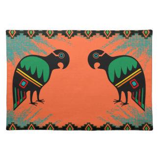 Los Papagayos - los loros Mantel Individual