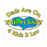 Los papás están en este planeta postal