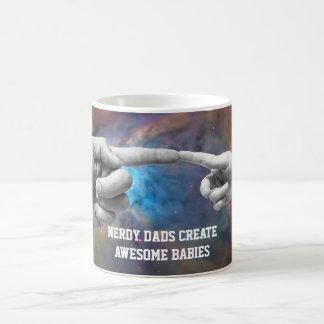 los papás nerdy crean la taza impresionante de los