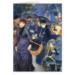 Los paraguas de Pedro Renoir Tarjetas