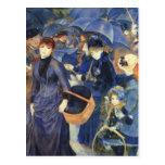 Los paraguas de Pedro Renoir Tarjetas Postales
