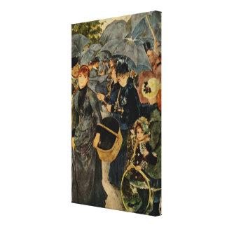 Los paraguas de Pierre-Auguste Renoir (1883) Impresiones En Lona