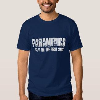 Los paramédicos lo consiguen en el primer palillo playeras