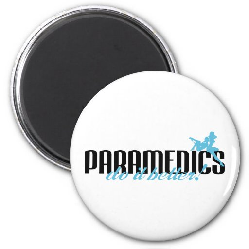 ¡Los paramédicos mejora! Imán De Nevera