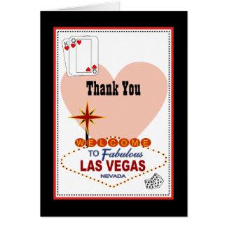 Los pares de Las Vegas de corazones le agradecen c Tarjetas