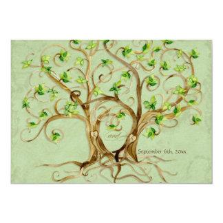Los pares de raíces del árbol del remolino comunicado