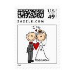 Los pares del boda hago las camisetas y los sellos