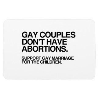 LOS PARES GAY NO TIENEN ABORTOS - PNG IMANES DE VINILO