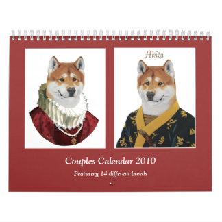 Los pares hacen calendarios 2010