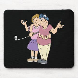 Los pares que Golf juntos permanecen juntos Alfombrilla De Raton