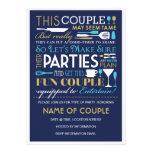 Los pares van de fiesta el azul y el oro