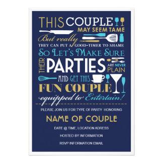 Los pares van de fiesta el azul y el oro comunicado personal