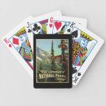 Los parques nacionales de América Baraja Cartas De Poker